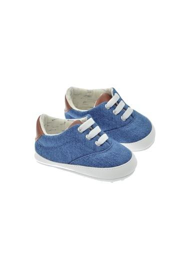 Freesure 211824 L.Jean Freesure Erkek Bebek Patik Bebek Ayakkabı  Mavi